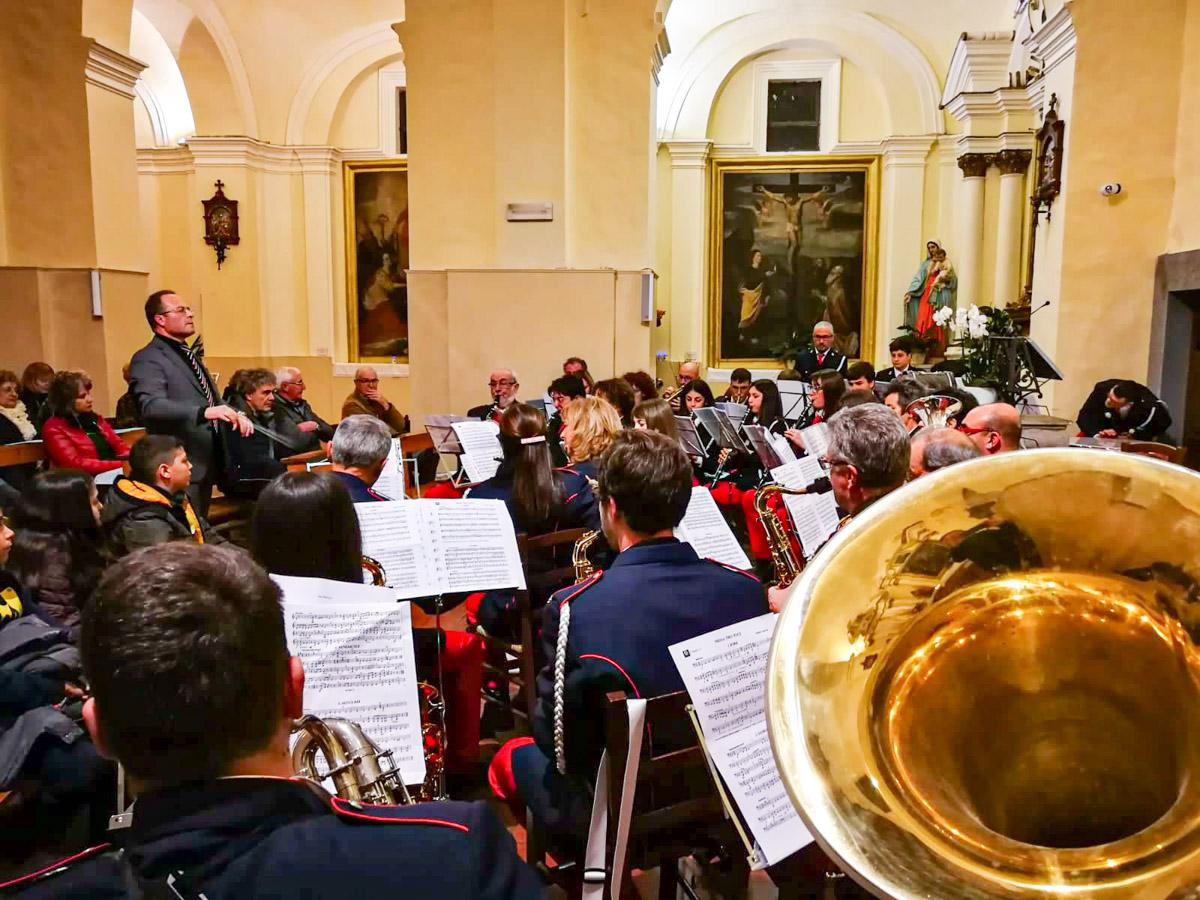Concerto di Santa Cecilia Grotte S. Stefano