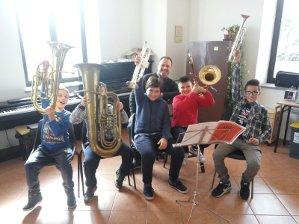 scuola di musica associazione musicale banda ferentum